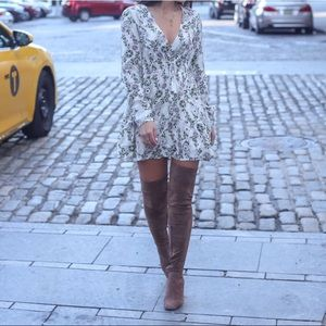 jeffrey campbell over the knee boots 8.5